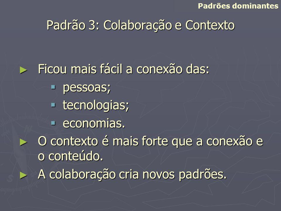 Padrão 3: Colaboração e Contexto