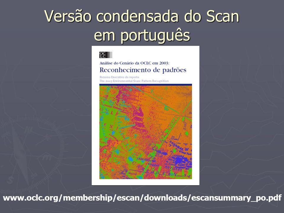 Versão condensada do Scan em português