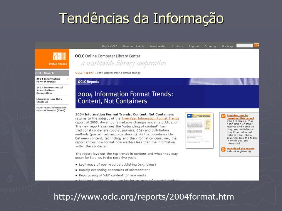 Tendências da Informação