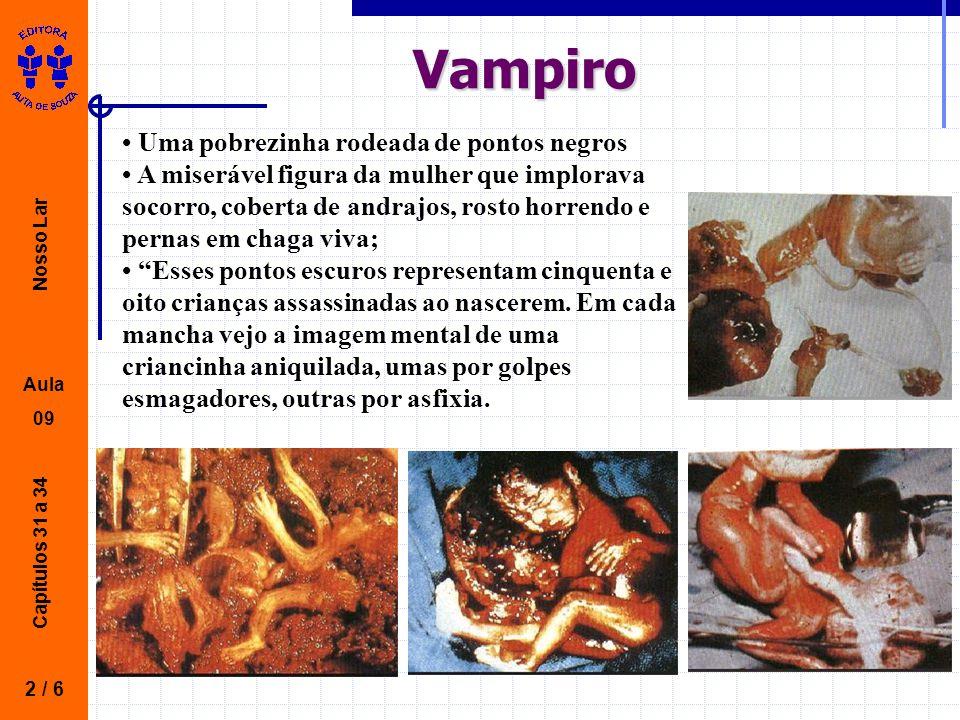 Vampiro • Uma pobrezinha rodeada de pontos negros