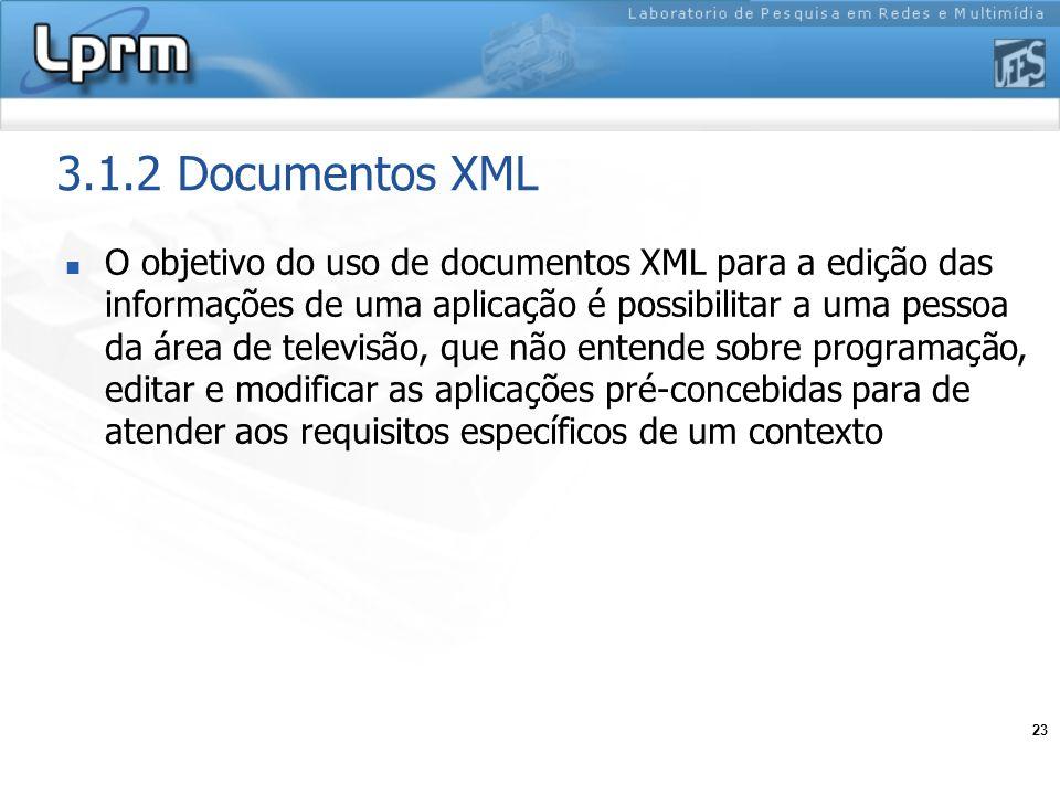 3.1.2 Documentos XML