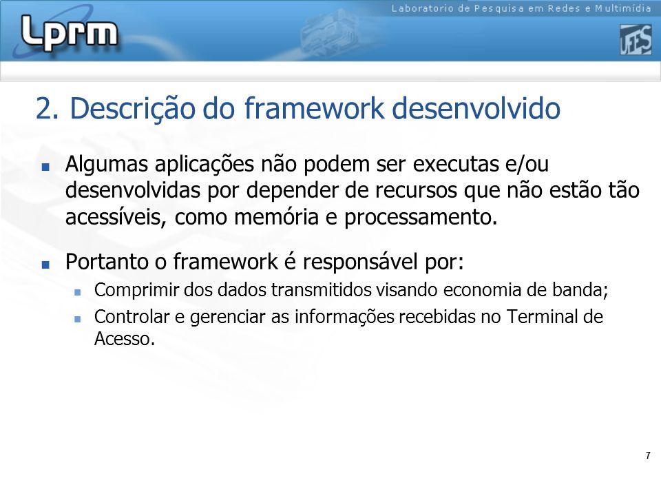 2. Descrição do framework desenvolvido