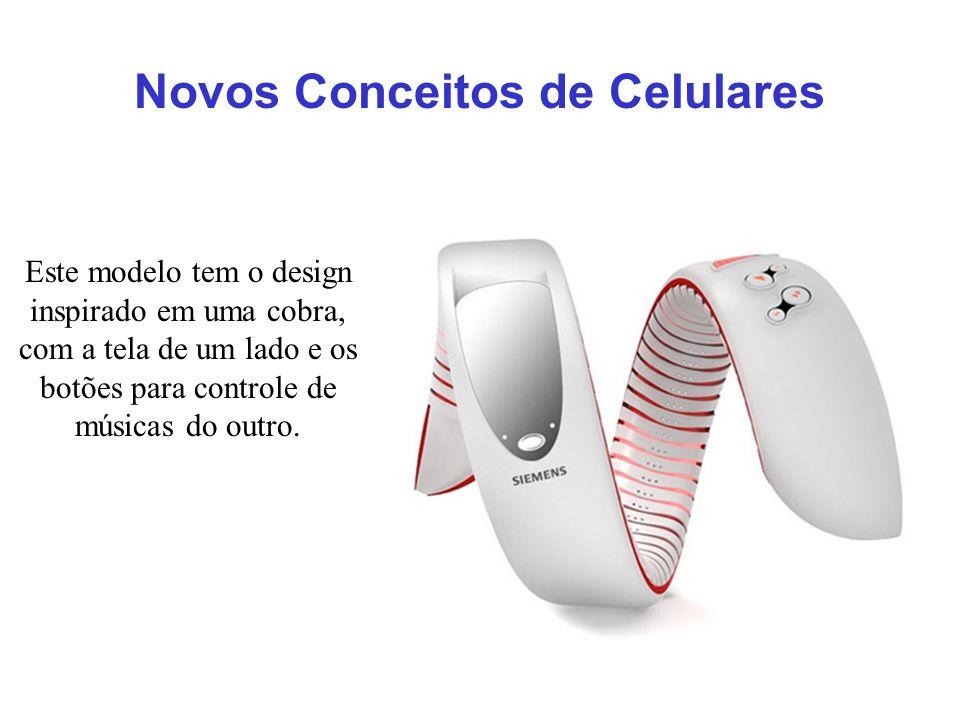 Novos Conceitos de Celulares