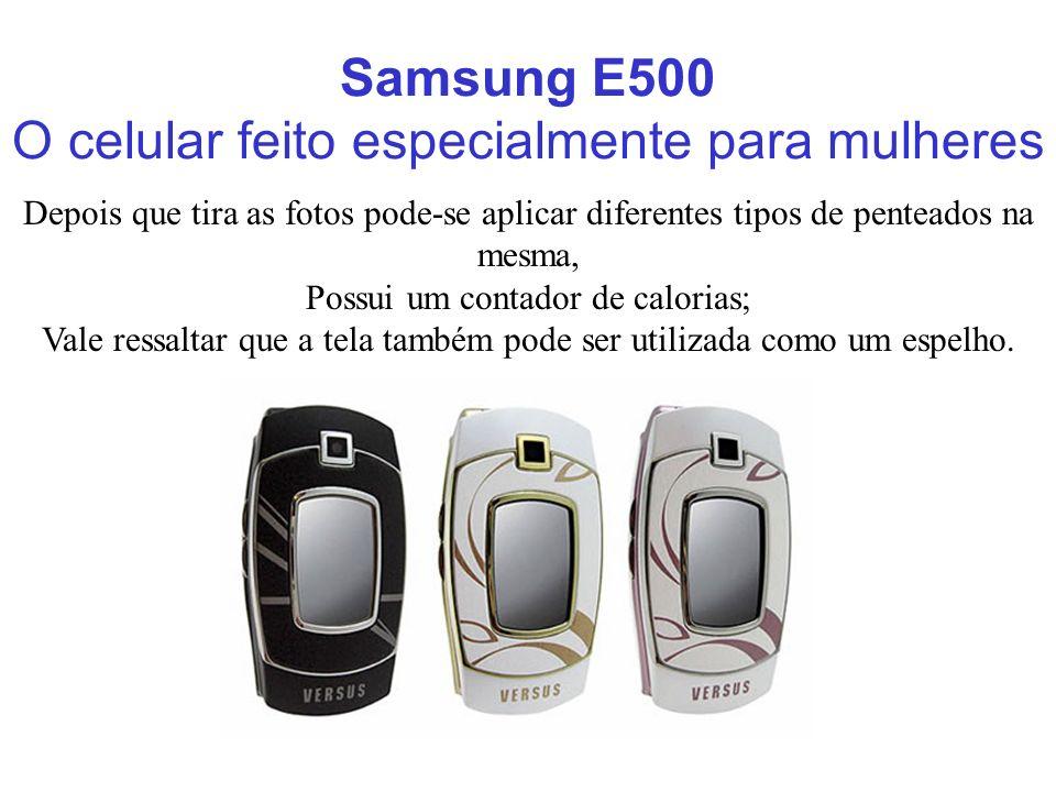 O celular feito especialmente para mulheres