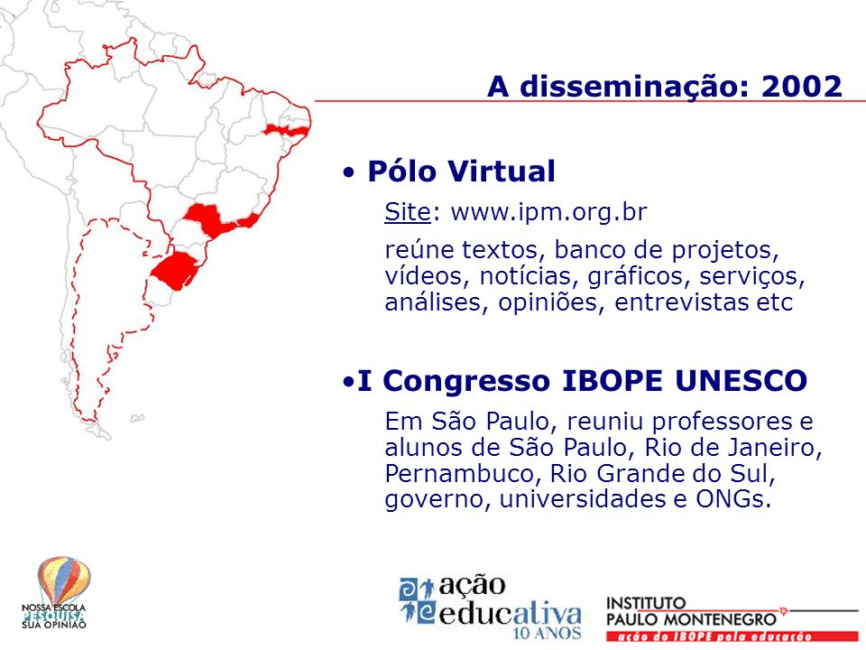 I Congresso IBOPE UNESCO