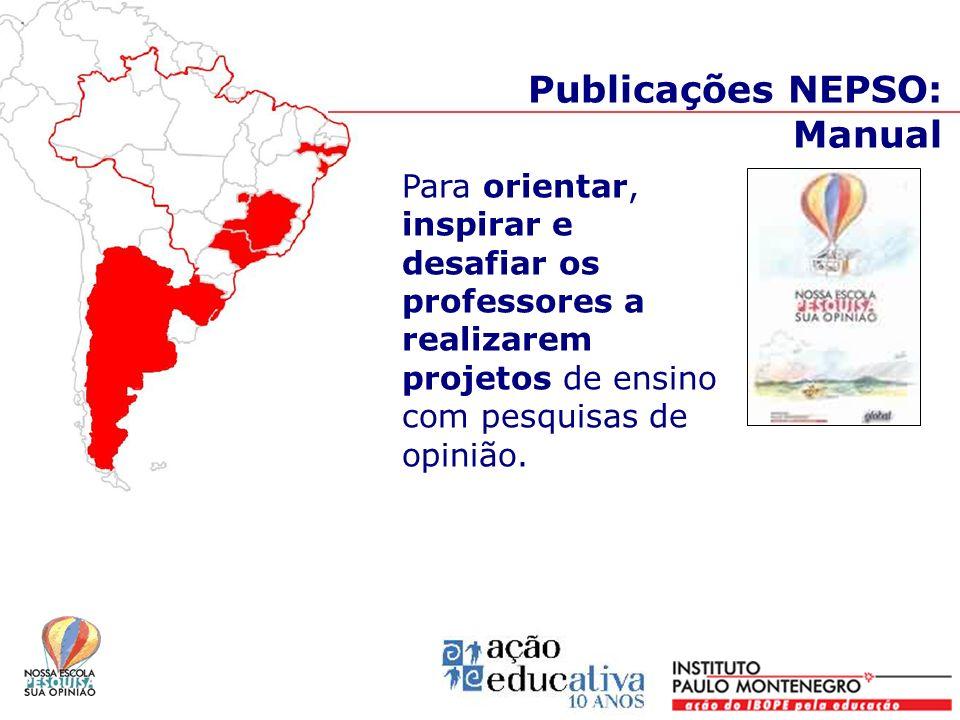 Publicações NEPSO: Manual