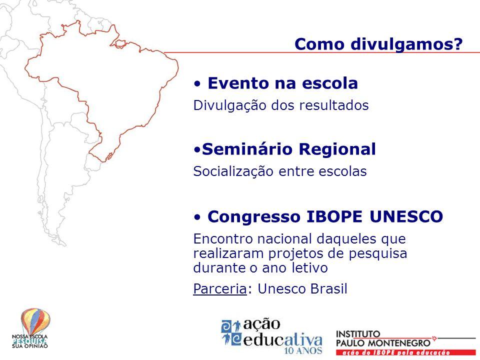 Congresso IBOPE UNESCO