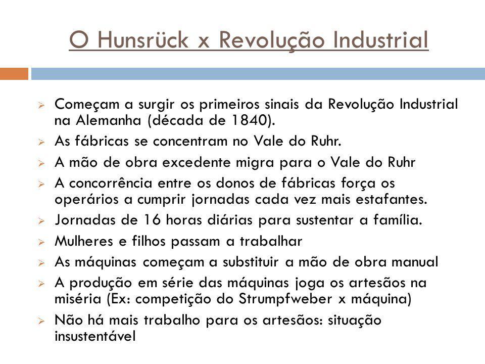 O Hunsrück x Revolução Industrial