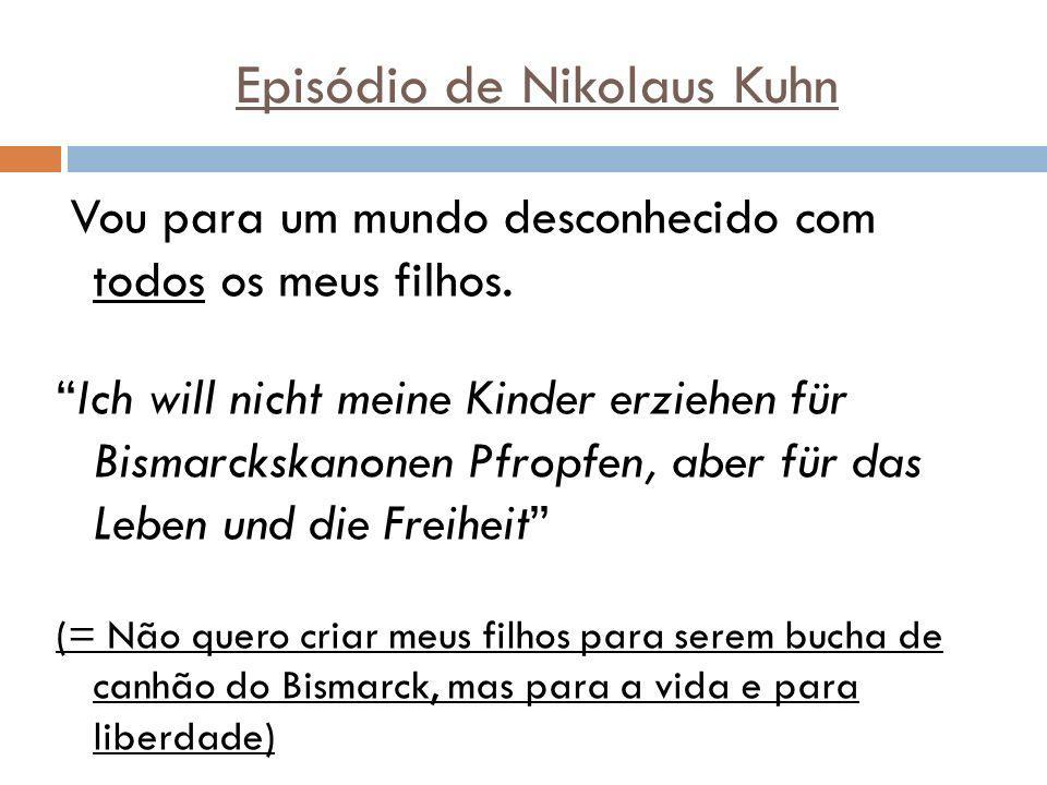 Episódio de Nikolaus Kuhn