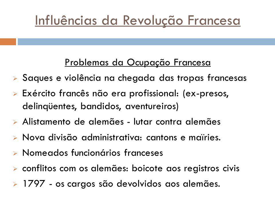 Influências da Revolução Francesa