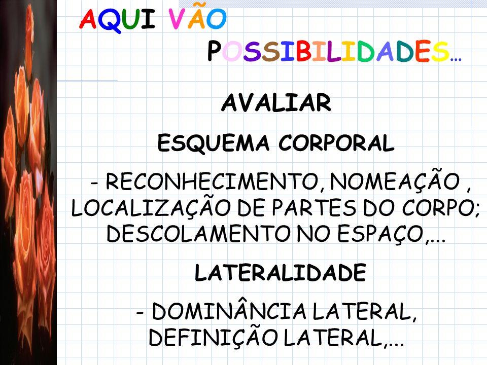 - DOMINÂNCIA LATERAL, DEFINIÇÃO LATERAL,...