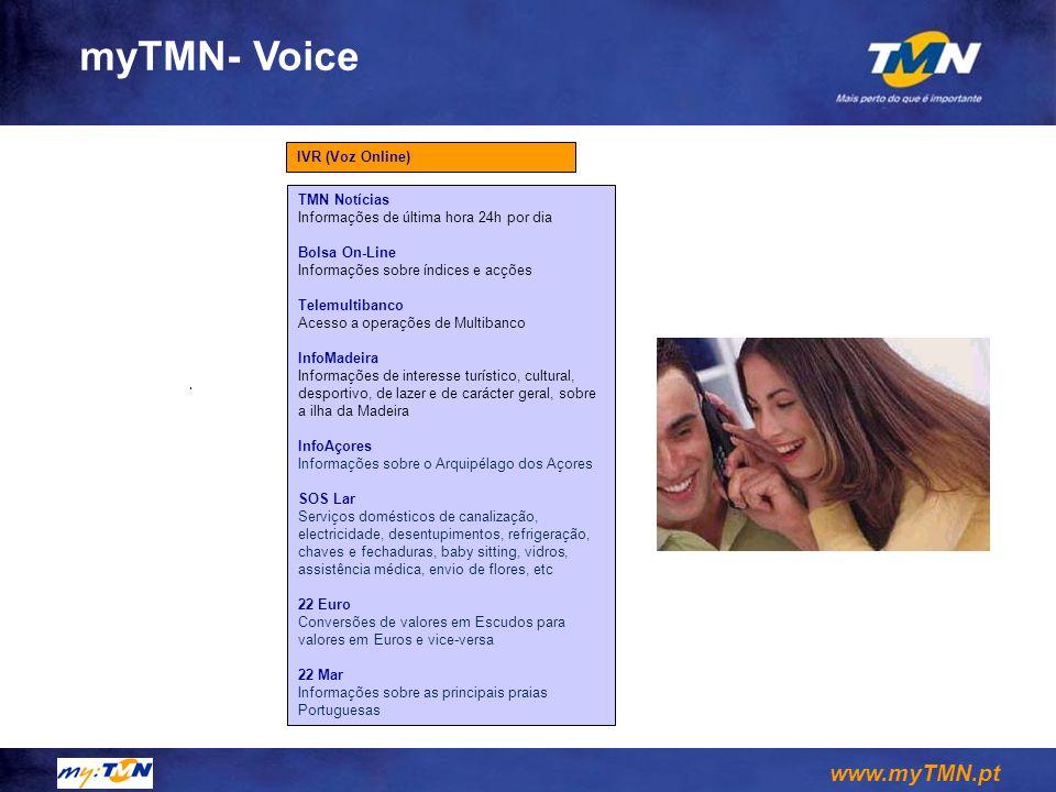 myTMN- Voice IVR (Voz Online) TMN Notícias