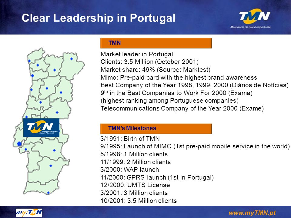 Clear Leadership in Portugal