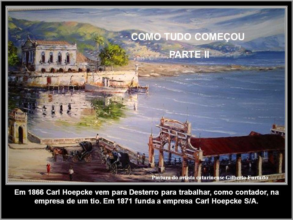 Pintura do artista catarinense Gilberto Furtado