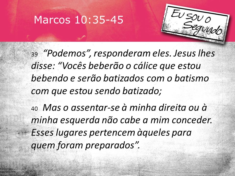 Marcos 10:35-45