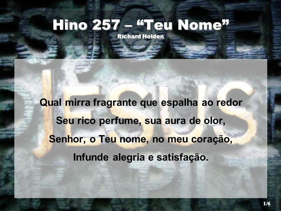 Hino 257 – Teu Nome Richard Holden