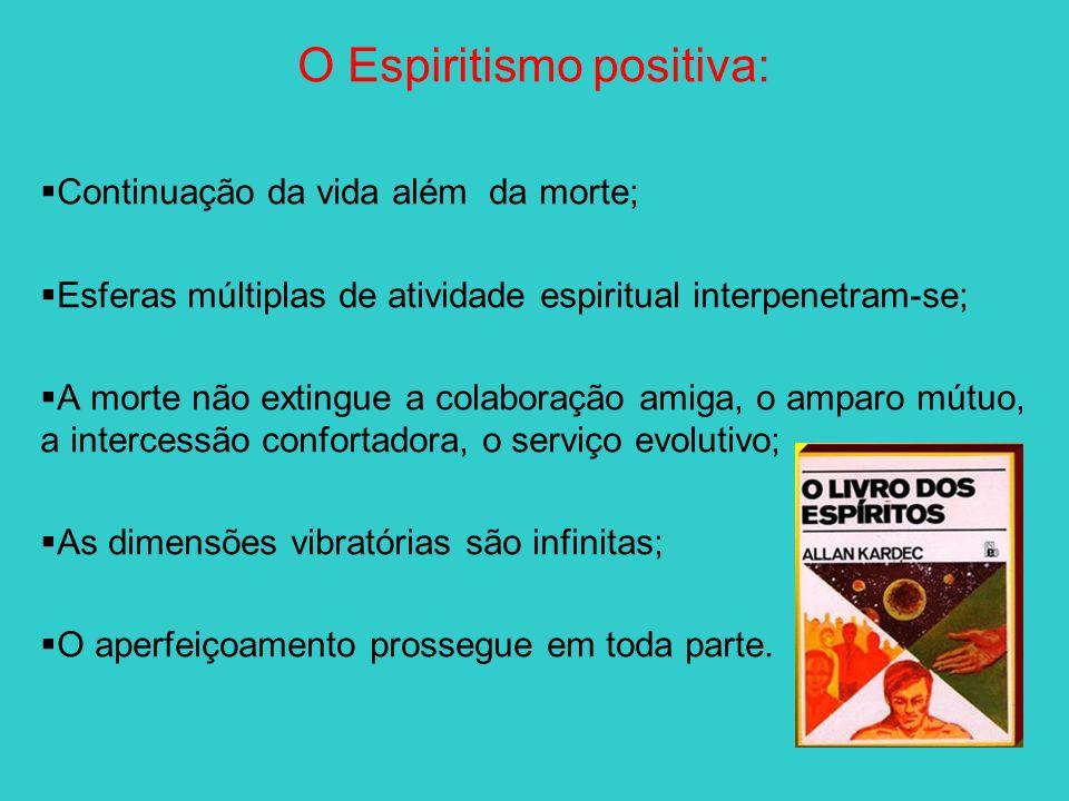 O Espiritismo positiva: