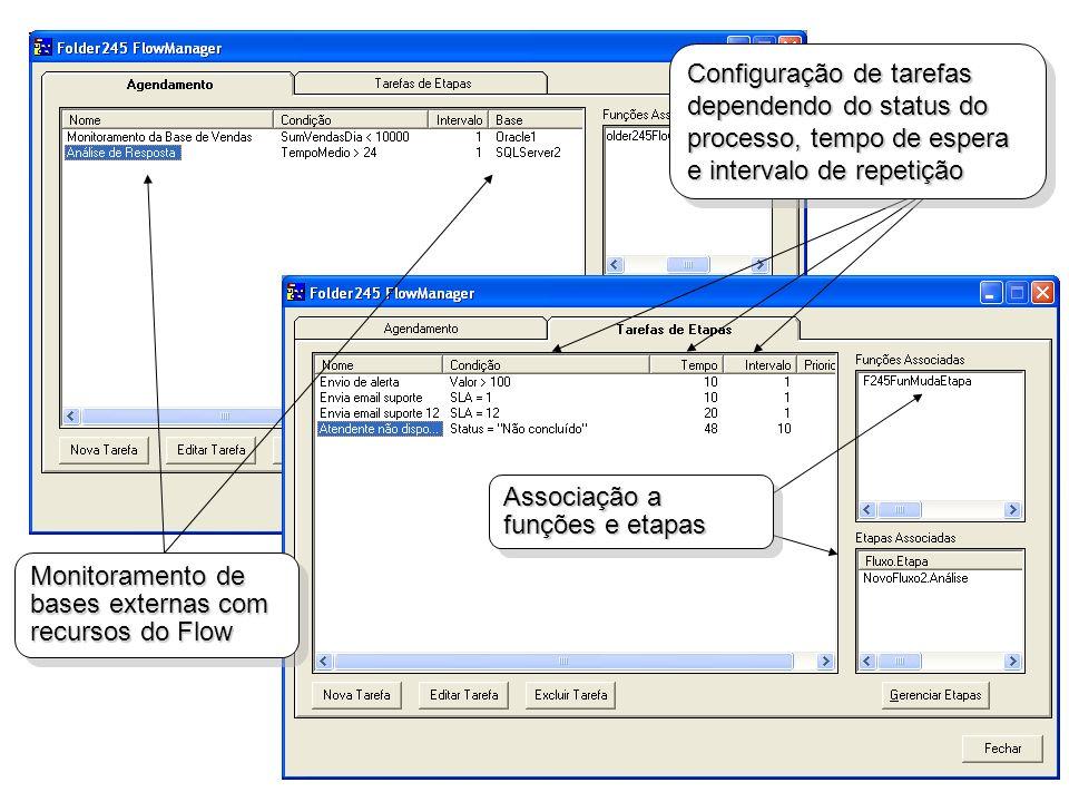 Monitoramento de bases externas com recursos do Flow