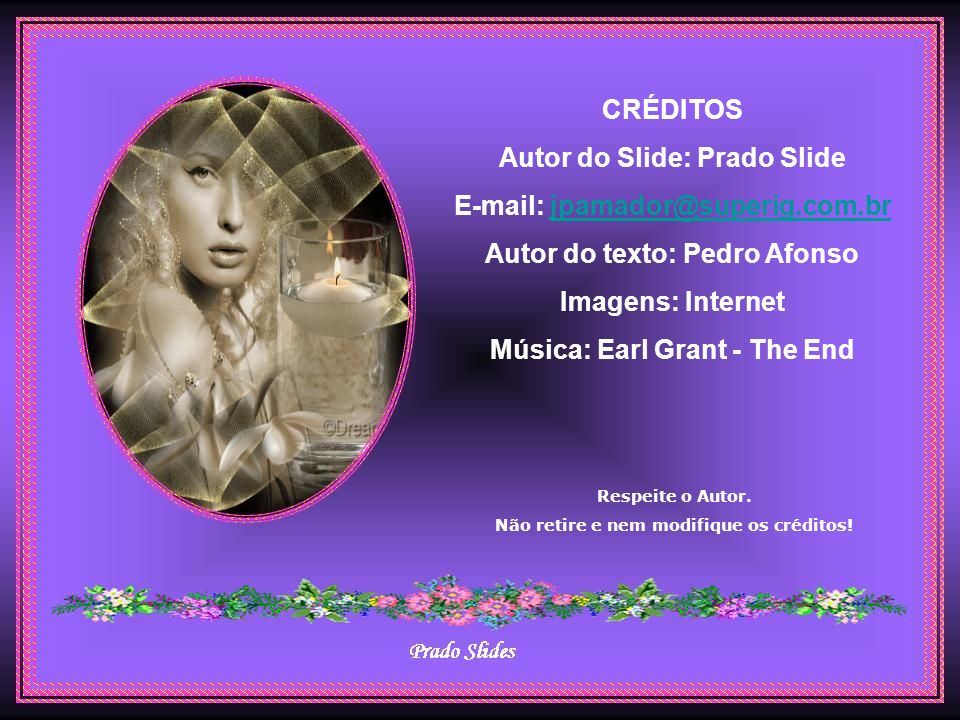 Autor do Slide: Prado Slide