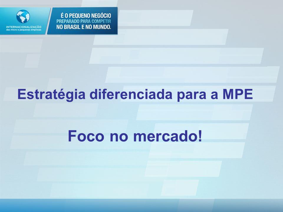 Estratégia diferenciada para a MPE