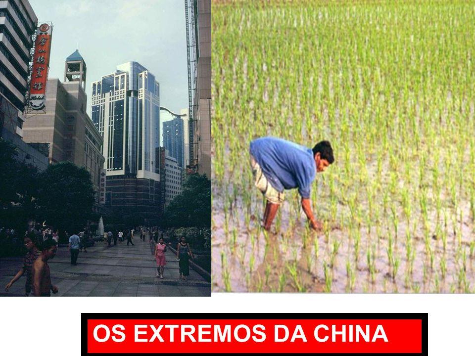 OS EXTREMOS DA CHINA