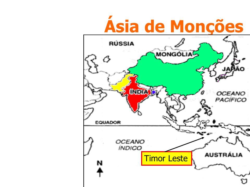 Ásia de Monções Timor Leste
