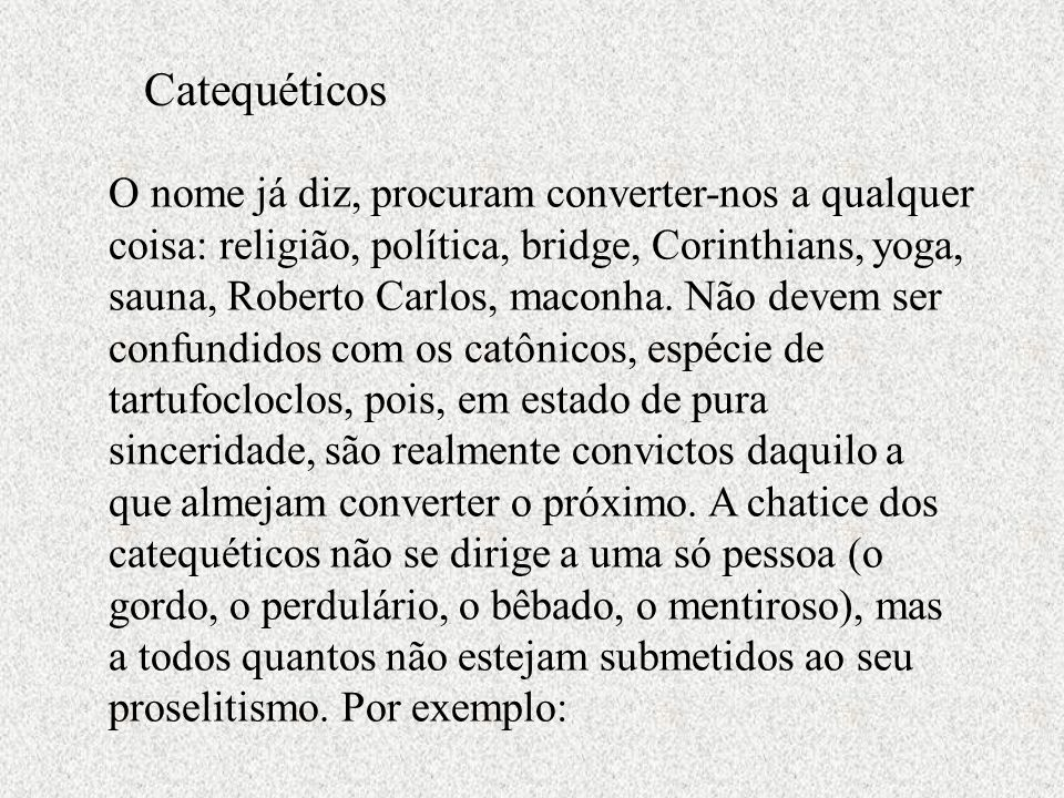 Catequéticos