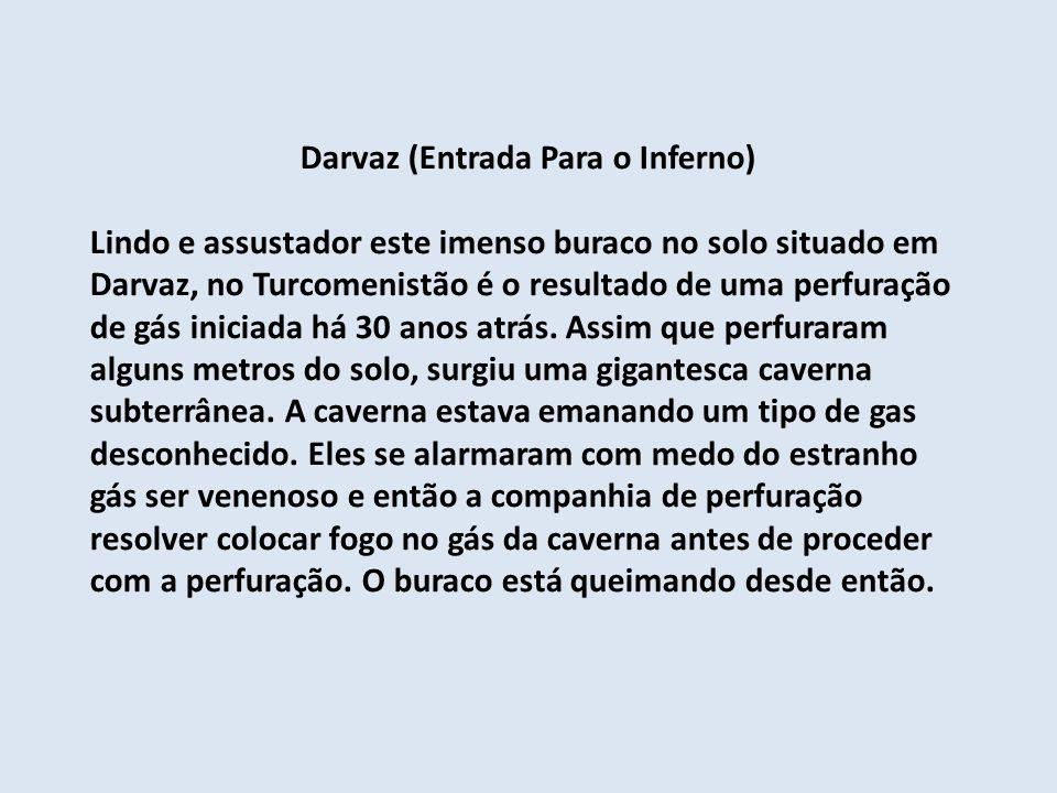 Darvaz (Entrada Para o Inferno)