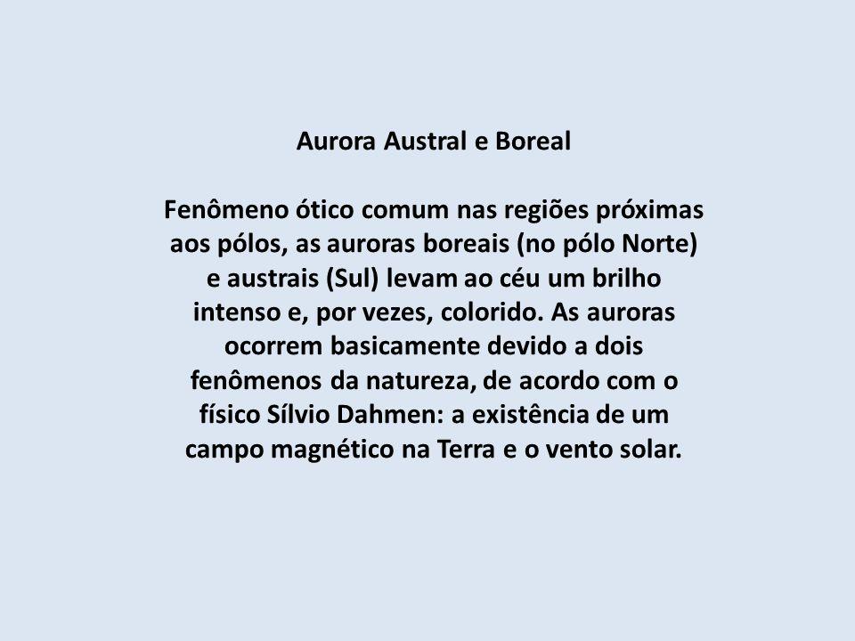 Aurora Austral e Boreal
