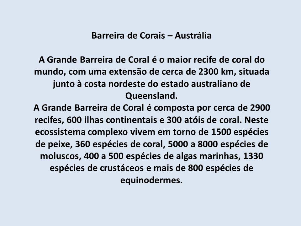 Barreira de Corais – Austrália