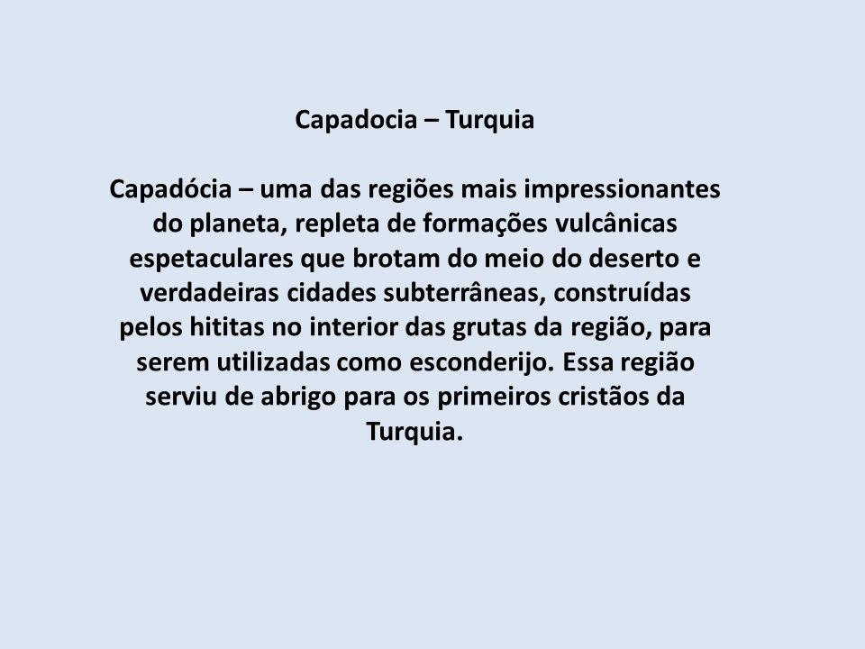 Capadocia – Turquia