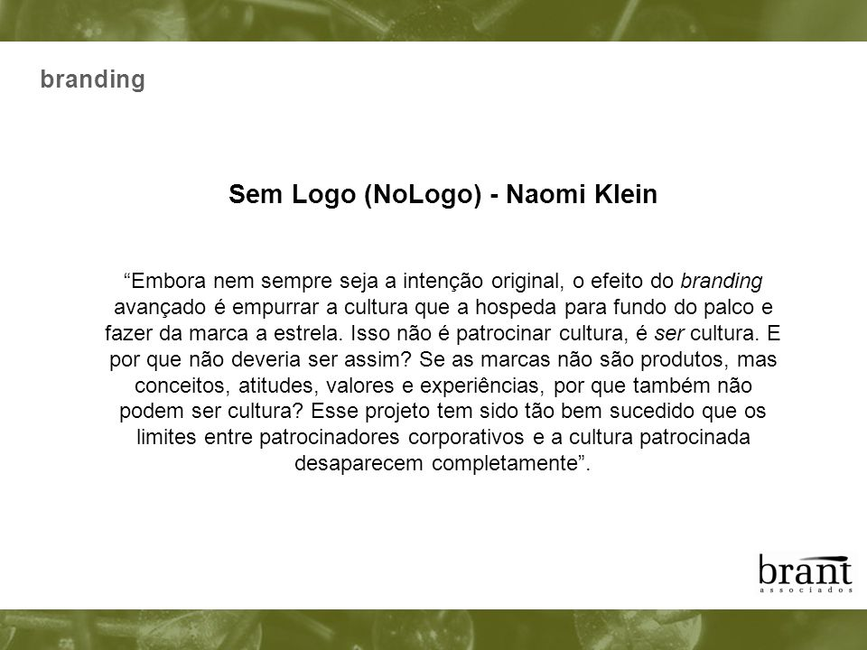 Sem Logo (NoLogo) - Naomi Klein