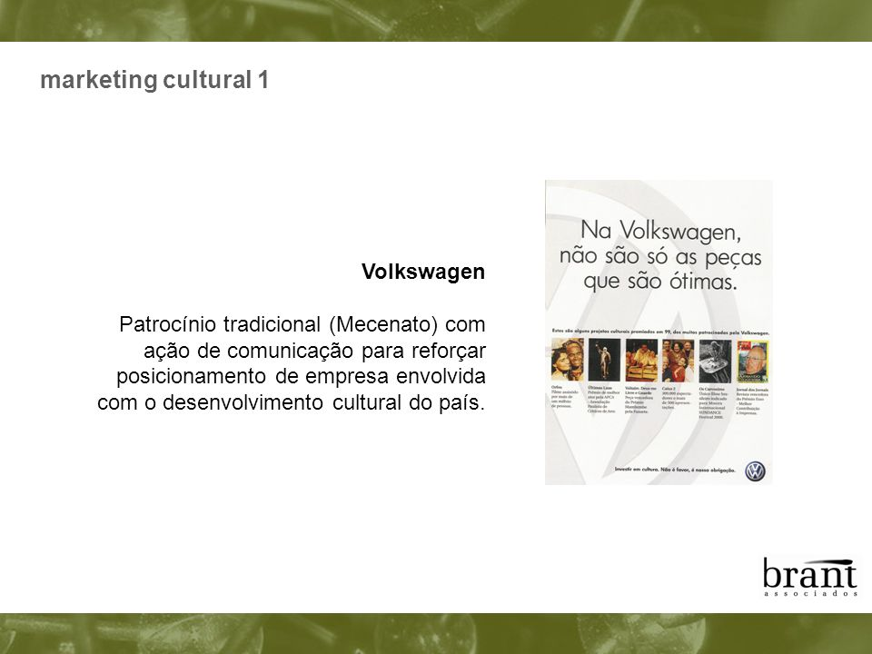 marketing cultural 1 Volkswagen