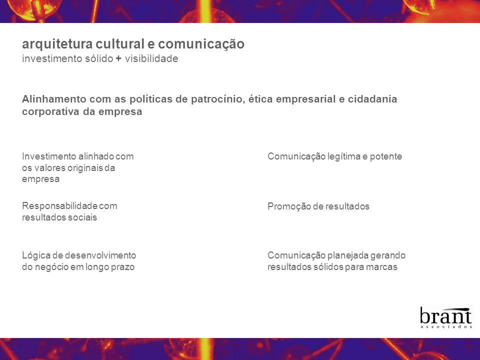 arquitetura cultural e comunicação