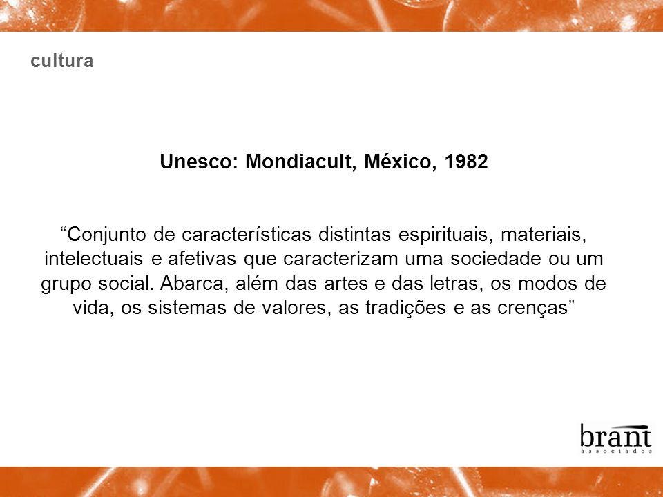 Unesco: Mondiacult, México, 1982