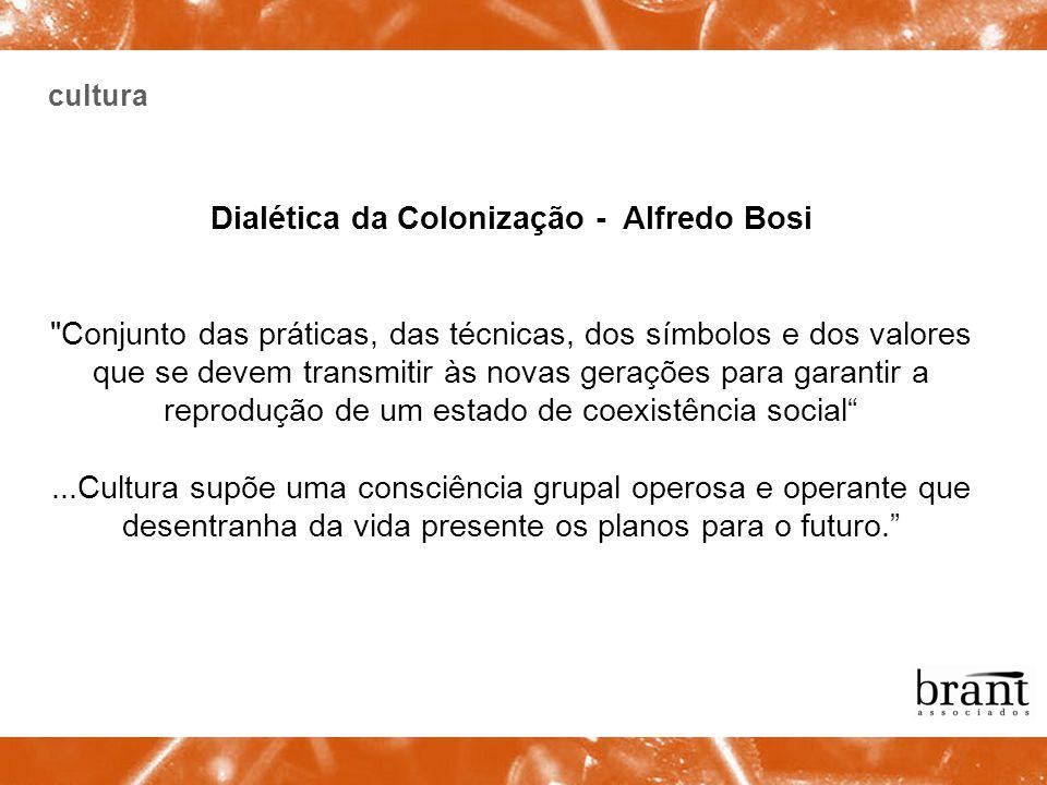 Dialética da Colonização - Alfredo Bosi