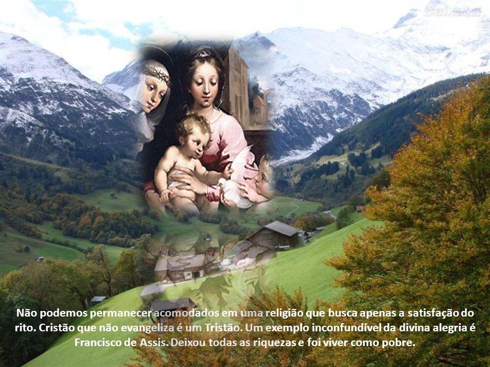 Não podemos permanecer acomodados em uma religião que busca apenas a satisfação do rito.