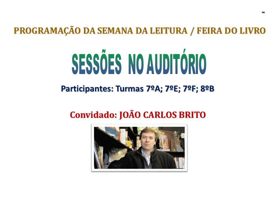 PROGRAMAÇÃO DA SEMANA DA LEITURA / FEIRA DO LIVRO