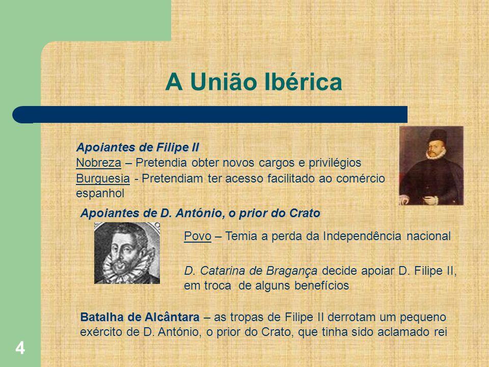 A União Ibérica Apoiantes de Filipe II
