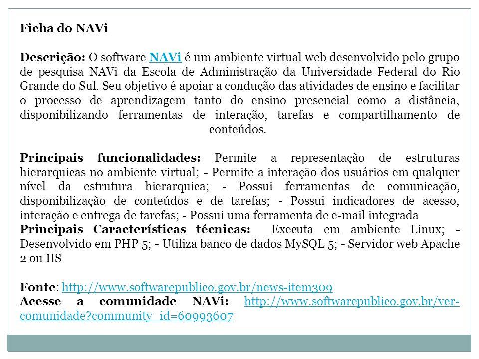 Ficha do NAVi