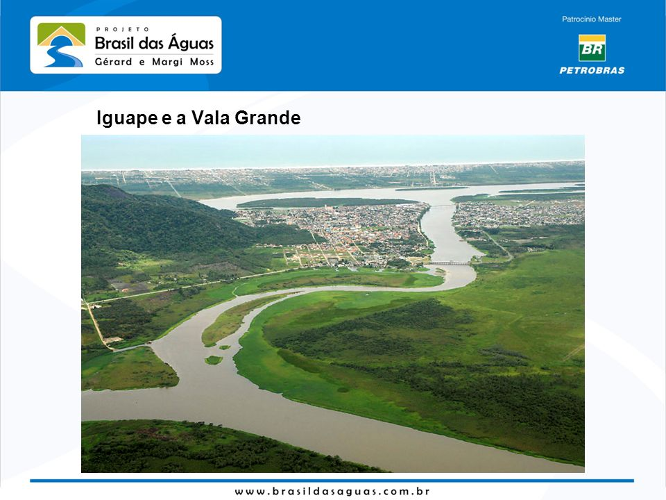 Iguape e a Vala Grande