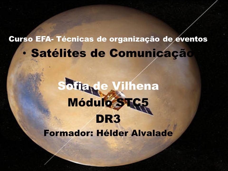 Satélites de Comunicação Sofia de Vilhena Módulo STC5 DR3