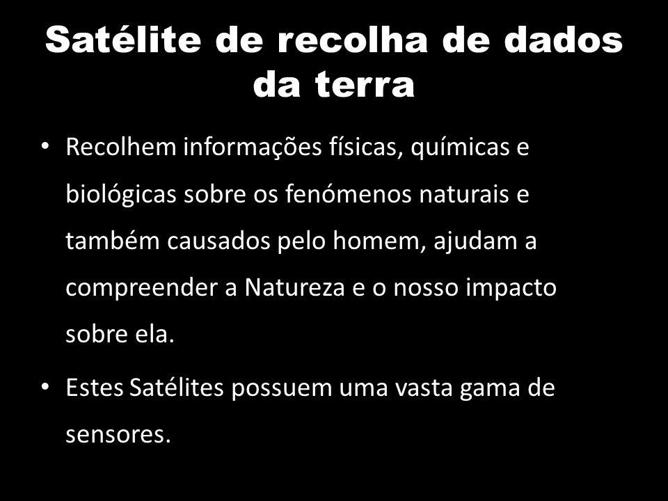 Satélite de recolha de dados da terra