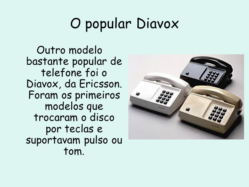 O popular Diavox