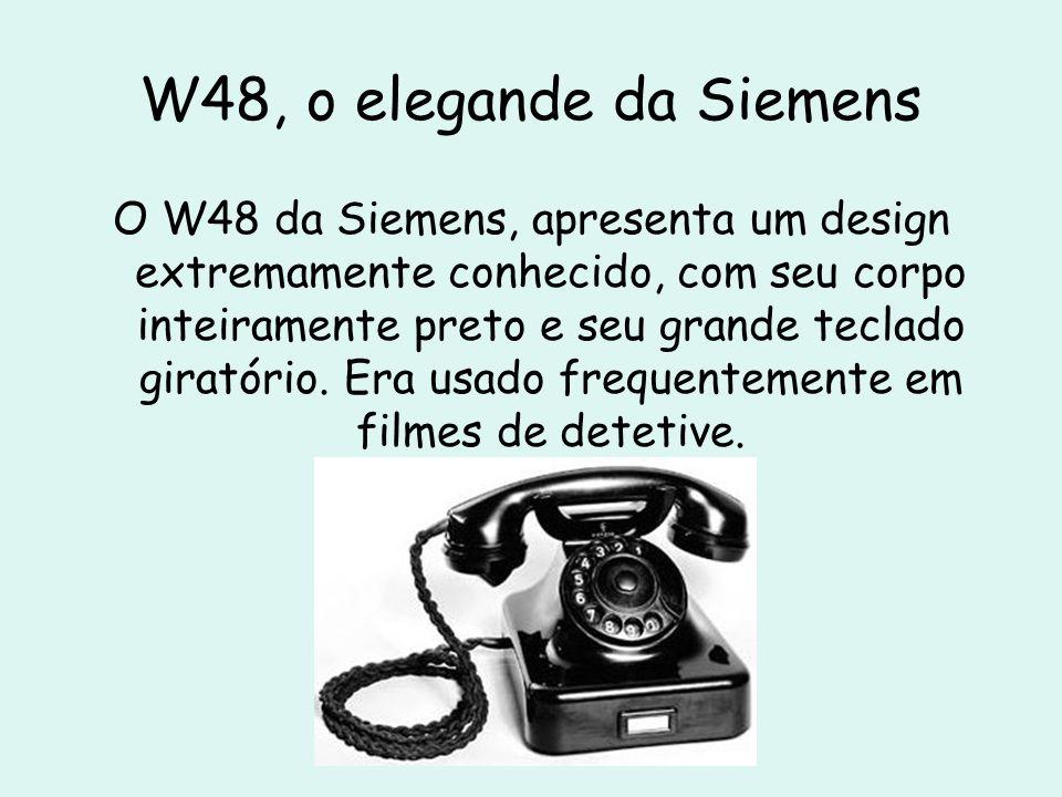 W48, o elegande da Siemens
