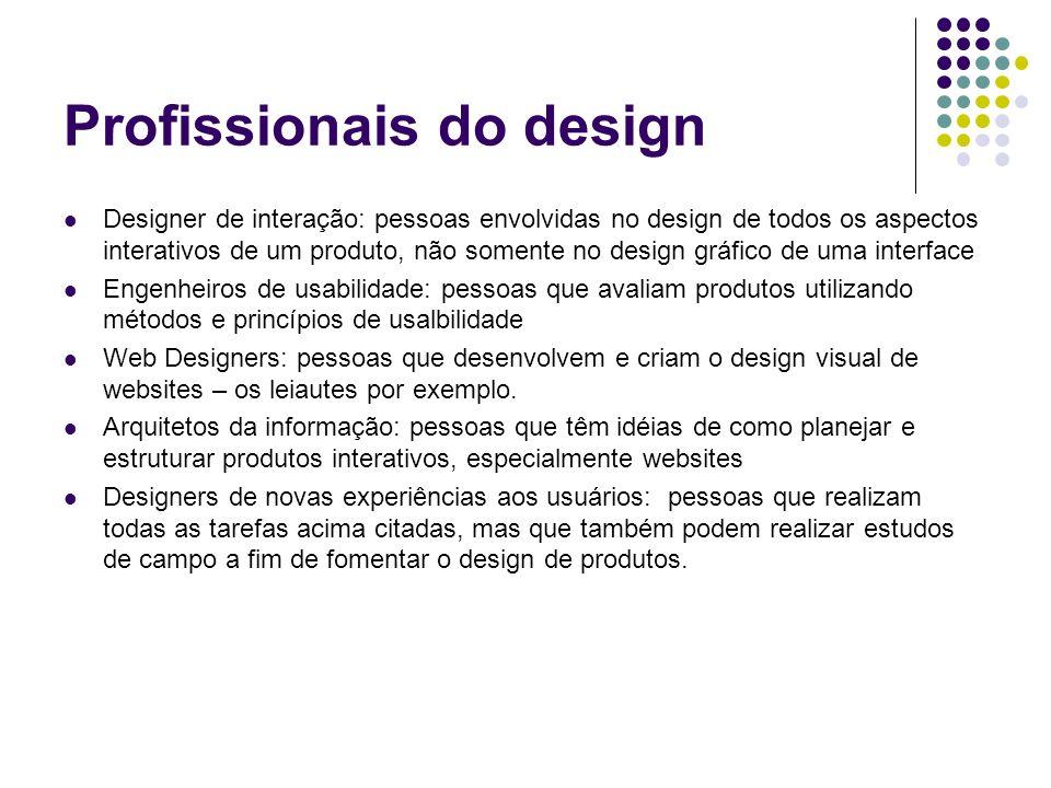 Profissionais do design
