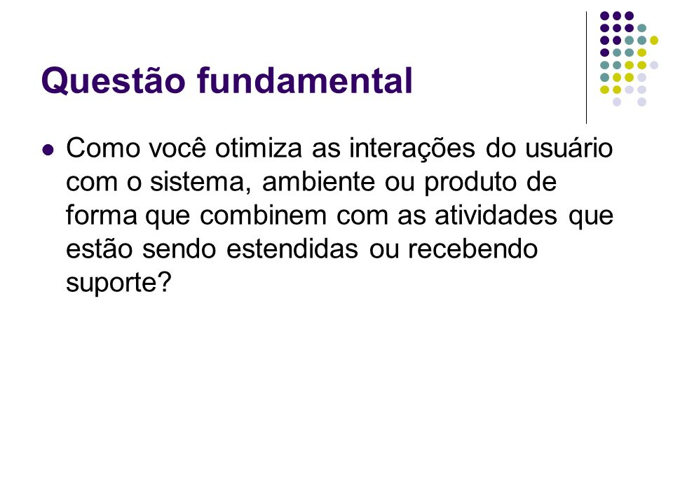 Questão fundamental
