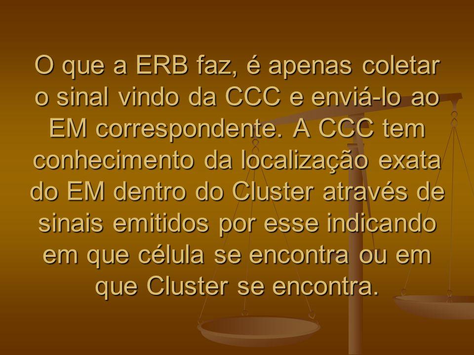 O que a ERB faz, é apenas coletar o sinal vindo da CCC e enviá-lo ao EM correspondente.