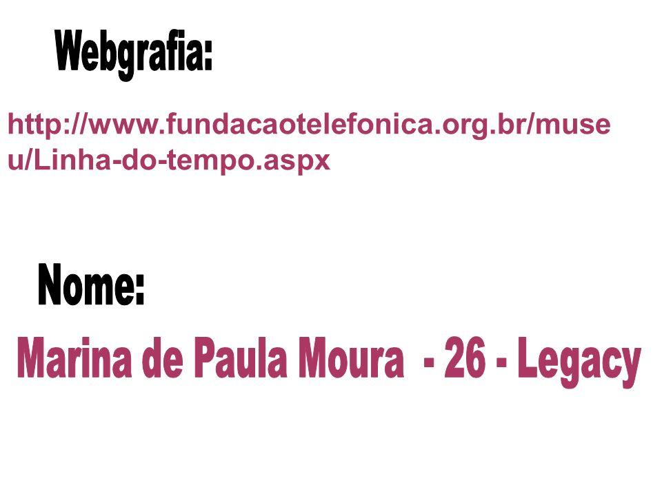 Marina de Paula Moura - 26 - Legacy