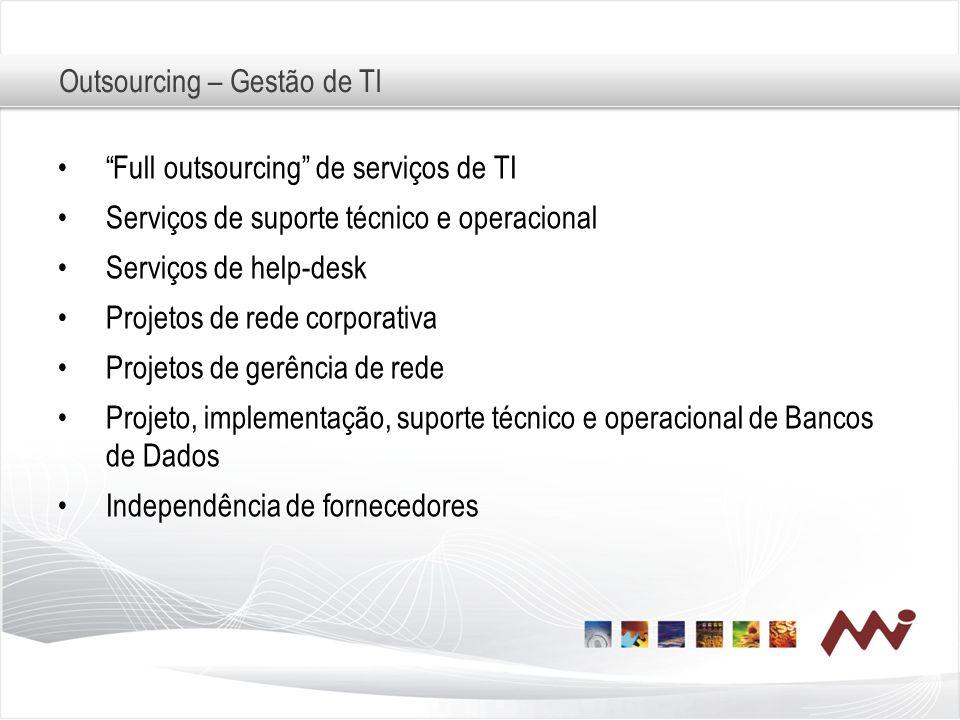 Outsourcing – Gestão de TI